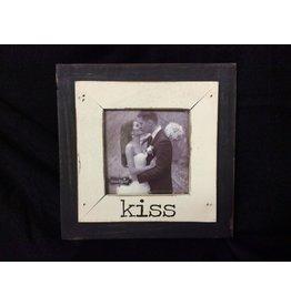 Mud Pie Kiss Frame