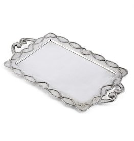 Mud Pie Knot Beau Metal Serving Tray