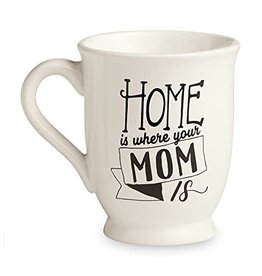 Mud Pie Mother's Day Mug - HOME IS WHERE MOM IS