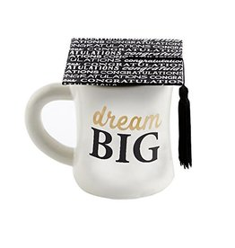 Mud Pie MP Grad Mug - DREAM BIG