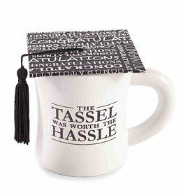Mud Pie MP Grad Mug - TASSEL WAS WORTH HASSLE