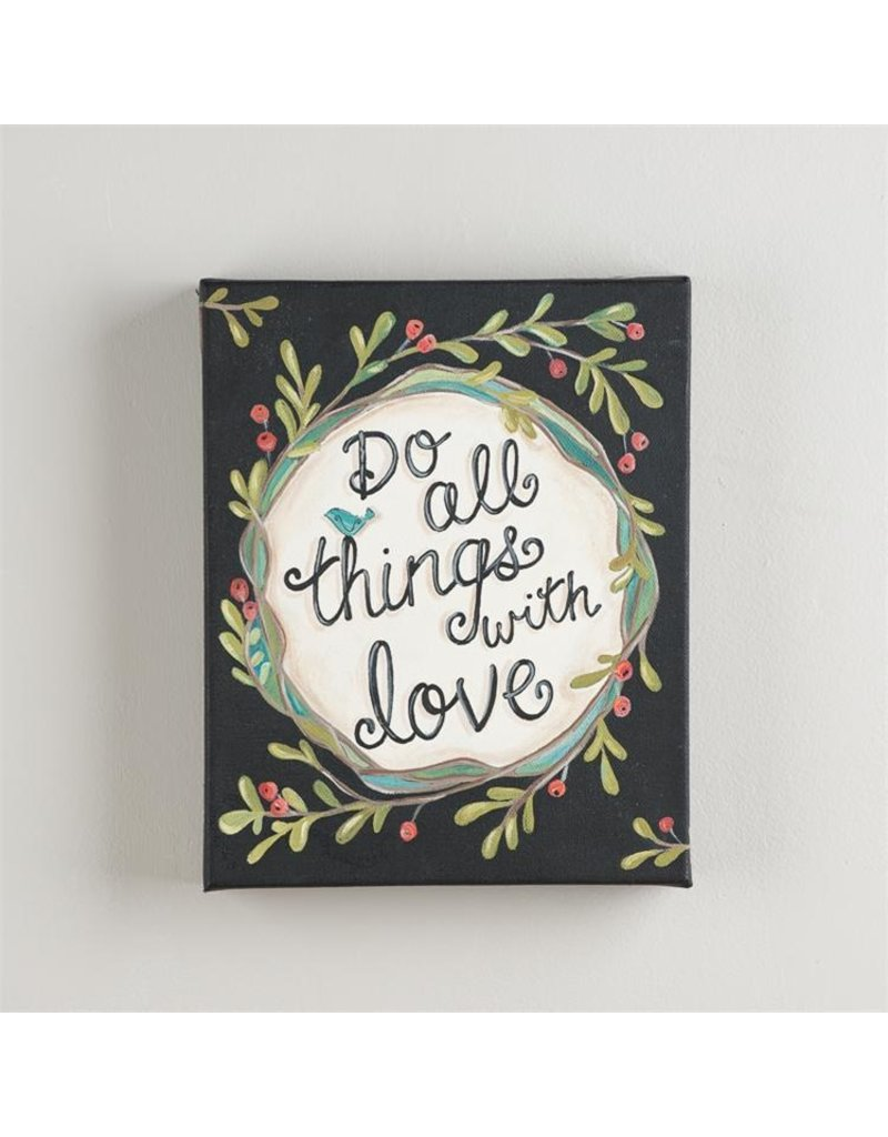 Do All Things With Love 8x10