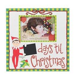 ELF DAYS TIL CHRISTMAS Frame (12X12)