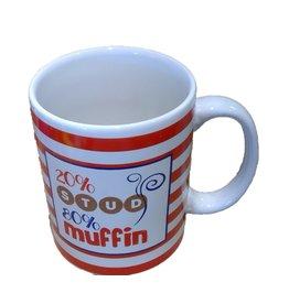 STUD MUFFIN Stoneware Mug (20 oz)