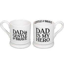Home Essentials DAD IS MY HERO Mug (15 oz)