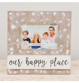 Our Happy Place Frame