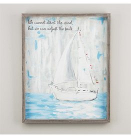 Sailboat Framed Canvas