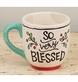 SO VERY BLESSED Jumbo Mug