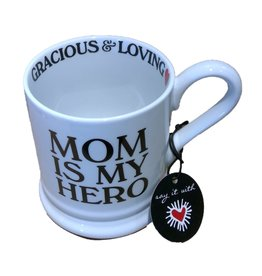 Home Essentials MOM IS MY HERO Mug (15 oz)