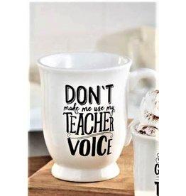 Mud Pie MP TEACHER VOICE MUG