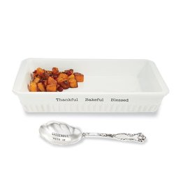 Mud Pie Thanksgiving Casserole Set