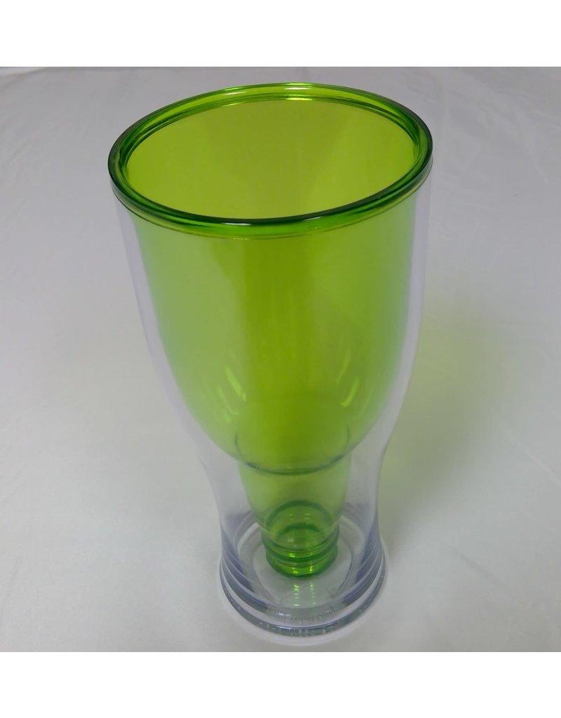 18 oz Plastic Beer Tumbler