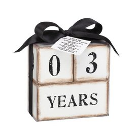 3-pc Perpetual Calendar
