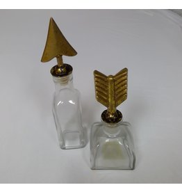 MIDWEST CBK Arrow Jars 2A Glass Metal