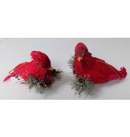 MelRose Cardinal Ornament Styrofoam