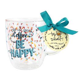 Top Shelf Mug - BE HAPPY