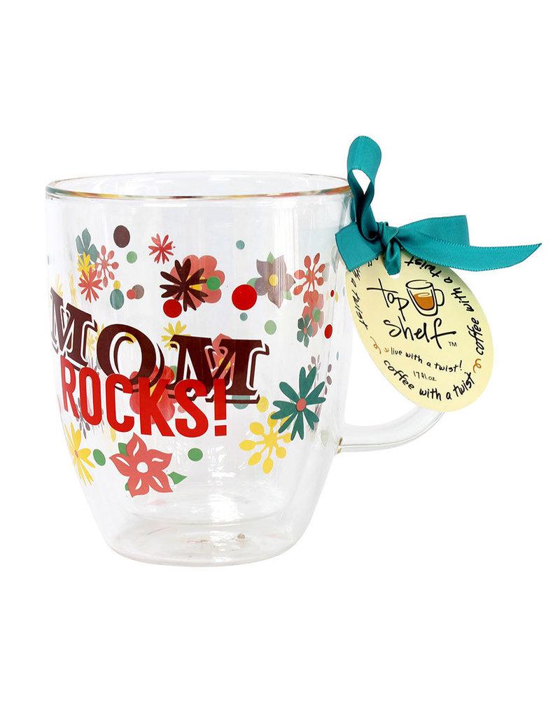 Top Shelf Mug - MOM ROCKS