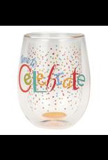 Top Shelf Stemless Wine - CELEBRATE