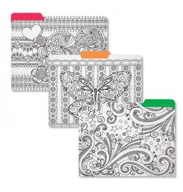 C R Gibson Dream in Color File Folders by CR Gibson