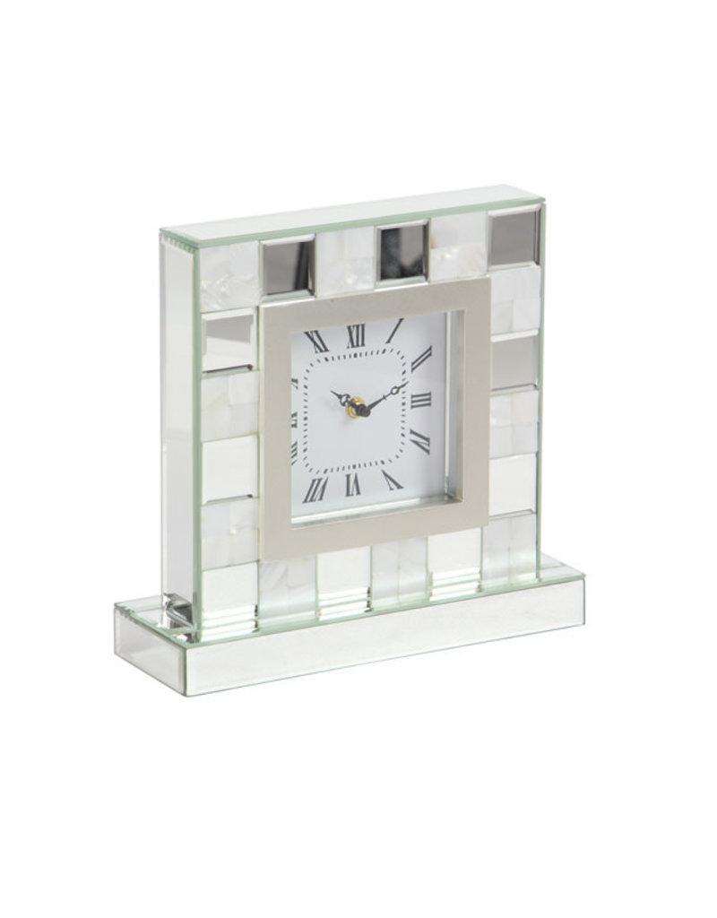 UMA ENTERPRISES INC. Modern Mirror Table Clock