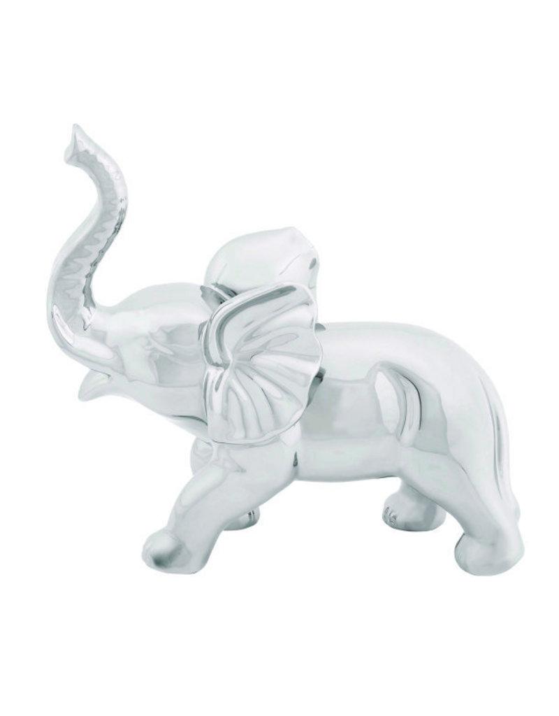 """UMA ENTERPRISES INC. Ceramic Elephant 12""""W, 12""""H"""