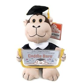 Cuddle Barn Graduation Squeezer - Monkey