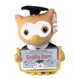 Cuddle Barn Graduation Squeezer - Owl