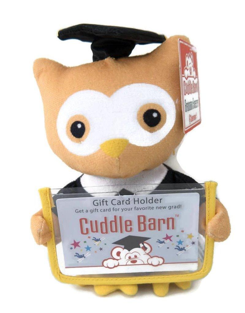 Cuddle Barn Graduation Squeezer - Owl
