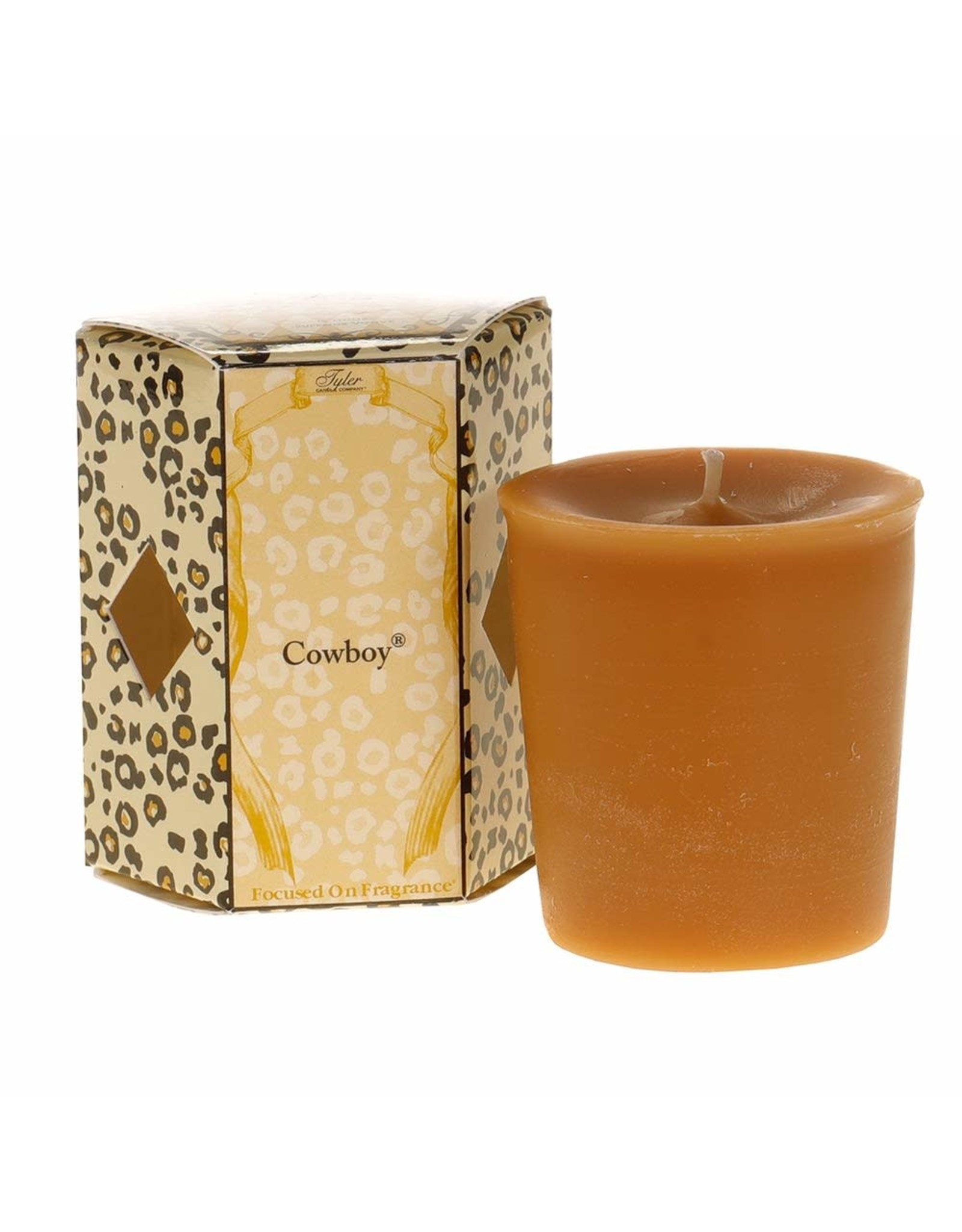 Tyler Candle Company COWBOY