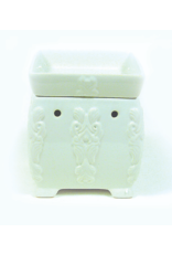 Tyler Candle Company Grandeur White Fragrance Warmer