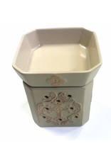 Tyler Candle Company Glory Matte Ivory Fragrance Warmer