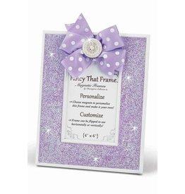 FANCY THAT FRAME Purple Glitter Frame