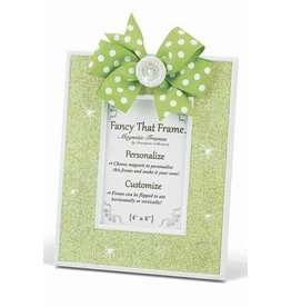 FANCY THAT FRAME Lime Green Glitter Frame