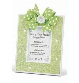 FANCY THAT FRAME Lime Green Glitter Frame