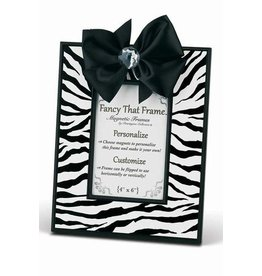 FANCY THAT FRAME Zebra Print Frame