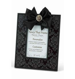 FANCY THAT FRAME Black Damask Frame