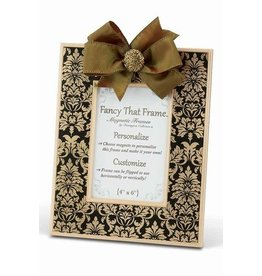 FANCY THAT FRAME Gold Damask Frame