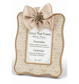 FANCY THAT FRAME Tan Vintage Damask Frame