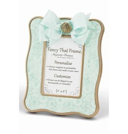FANCY THAT FRAME Teal Vintage Damask Frame