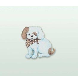 Blue Puppy Magnet