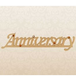 Anniversary Magnet (Gold)