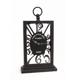 MelRose Silhouette Desk Clock