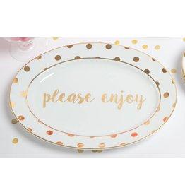 8 Oak Lane PLEASE ENJOY Platter