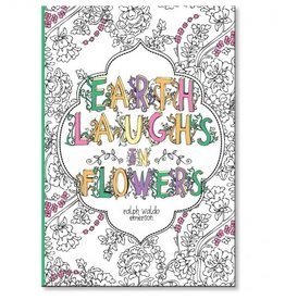 C R Gibson EARTH LAUGHS IN FLOWERS Coloring Journal