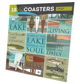 Lake Living Coasters
