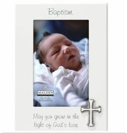 Malden 4x6 BAPTISM Frame w/metal cross