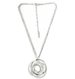 Anna Nova Inspiration Necklace - Silver