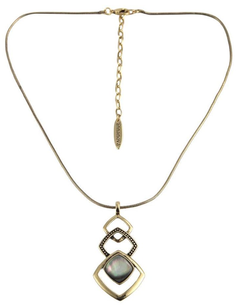 Anna Nova Reflections Necklace - Gold