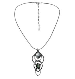 Anna Nova Reflections Necklace - Silver