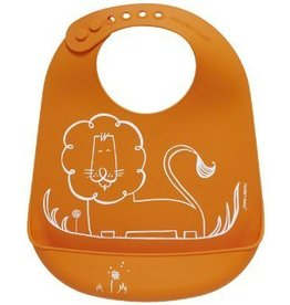 Munch Mate Bib: Dandy Lion - Orange